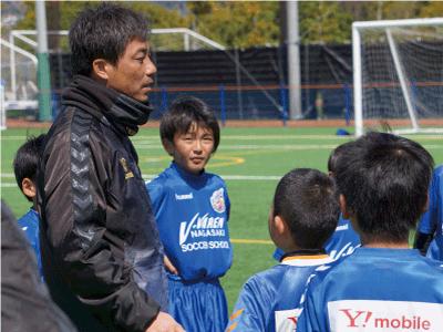 専門のコーチによる指導