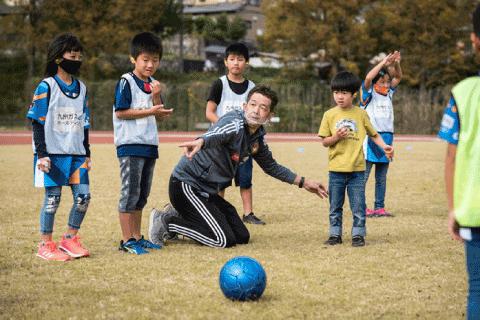 障がい者スポーツ「デフサッカー」体験教室