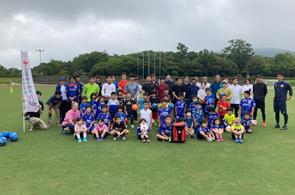 サッカー教室の開催