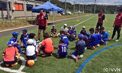 《スクール》短期サッカースクール1日目実施報告(7/27) サムネイル