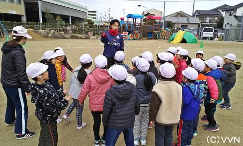 【KIDS巡回】長崎県サッカー協会とV・ファーレン長崎による協働事業(1/23) サムネイル