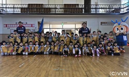 【地域貢献活動】児童虐待防止 サッカー教室・講演会 報告(1/31) サムネイル