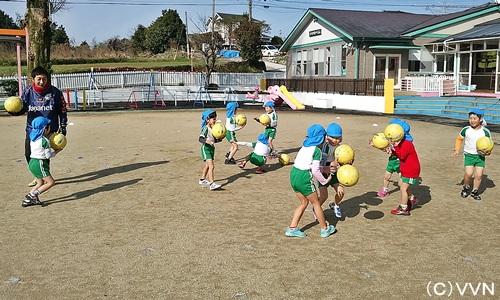 【KIDS巡回】長崎県サッカー協会とV・ファーレン長崎による協働事業(2/24) サムネイル