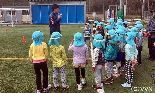 【KIDS巡回】長崎県サッカー協会とV・ファーレン長崎による協働事業(3/24) サムネイル