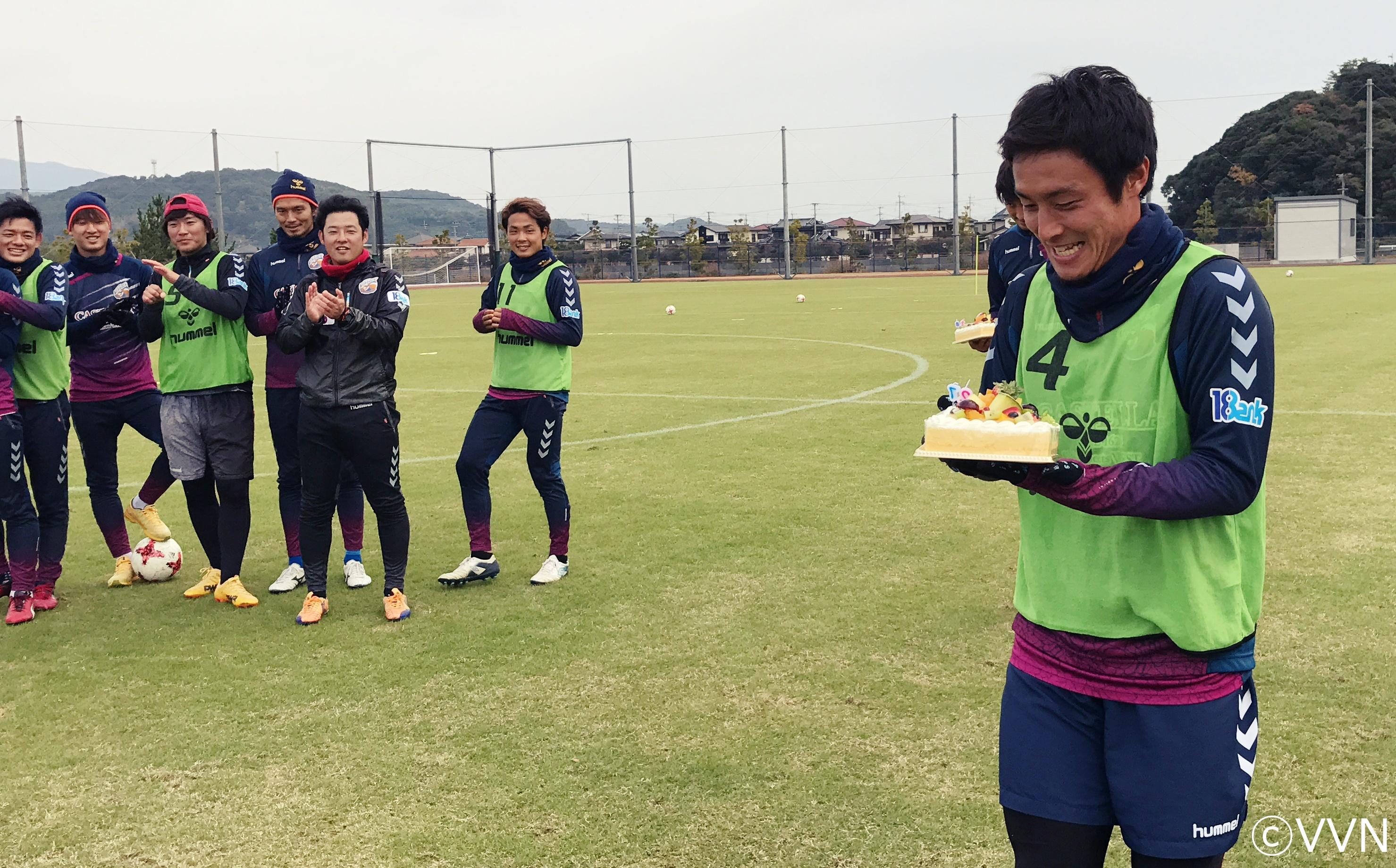 島田 譲選手が27歳の誕生日を迎えました! サムネイル