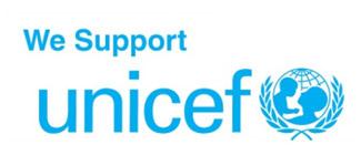 ジャパネット+V・ファーレン長崎+ユニセフ=世界の子どもたちの支援と平和の発信