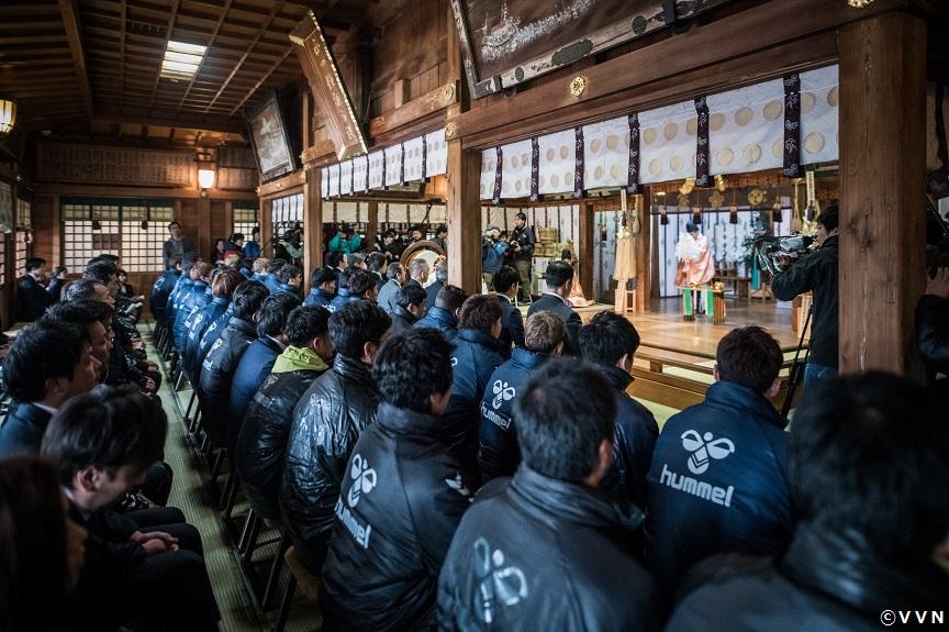 2019シーズン必勝祈願及びキャンプの開催について サムネイル