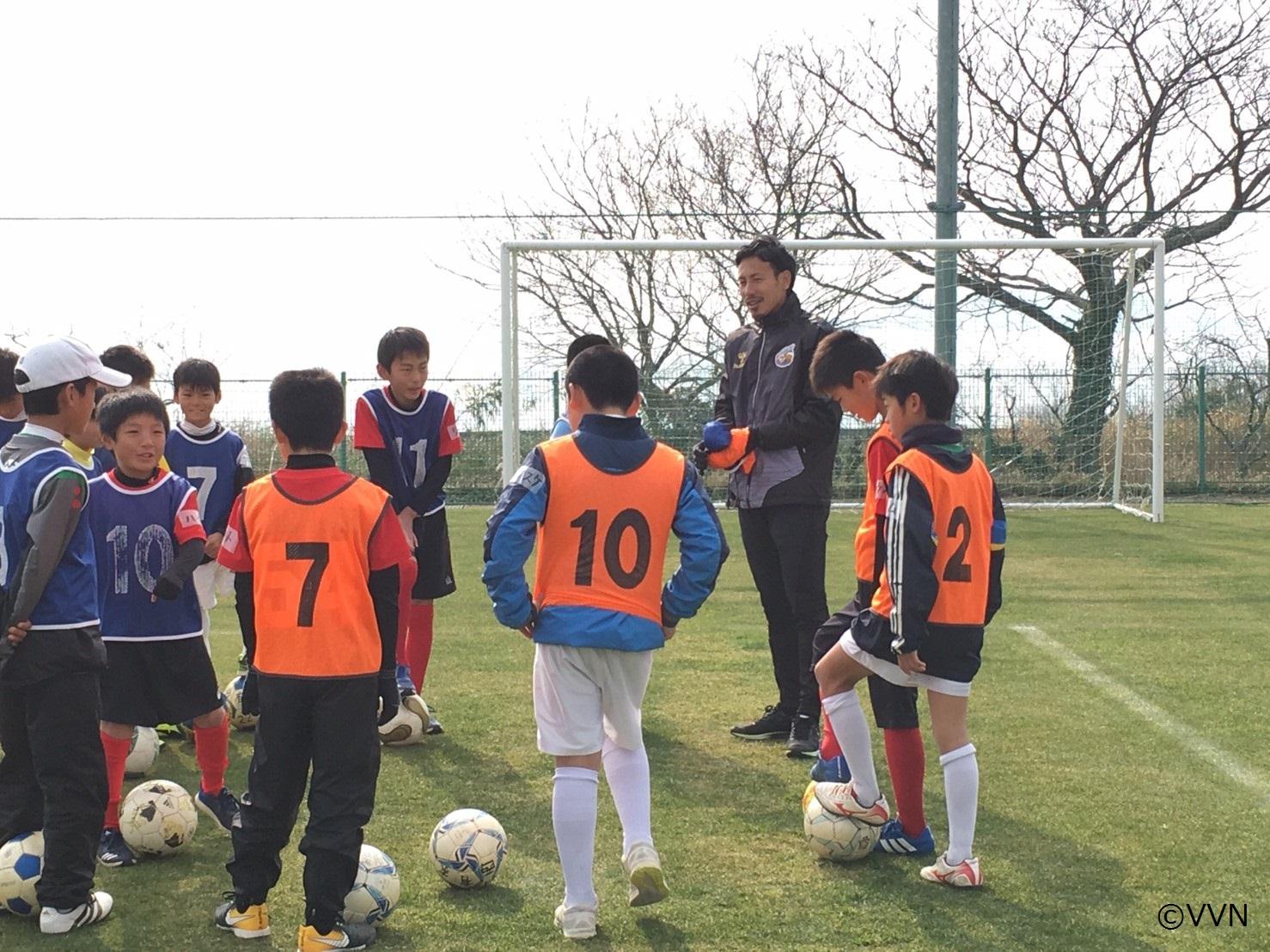 浜松建設presents V・ファーレン長崎サッカー教室参加者募集のお知らせ サムネイル