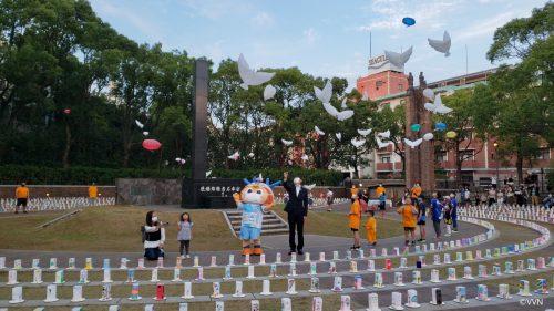 【ホームタウン活動】長崎市 爆心地公園で開催された「平和の灯」に参加しました(9/25) サムネイル